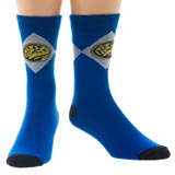Power Rangers Blue Crew Socks