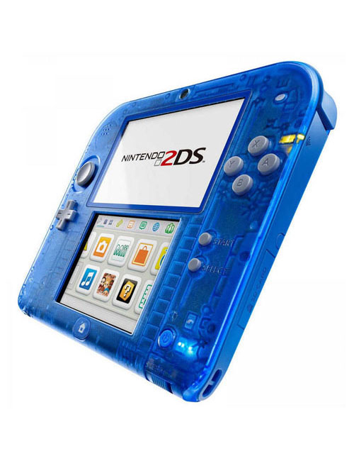 Nintendo 2DS System Crystal Blue