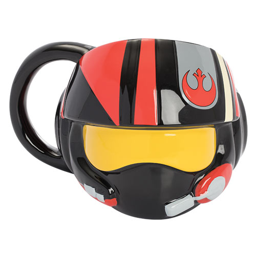 Star Wars: The Last Jedi Resistance Helmet Sculpted 20oz Ceramic Mug