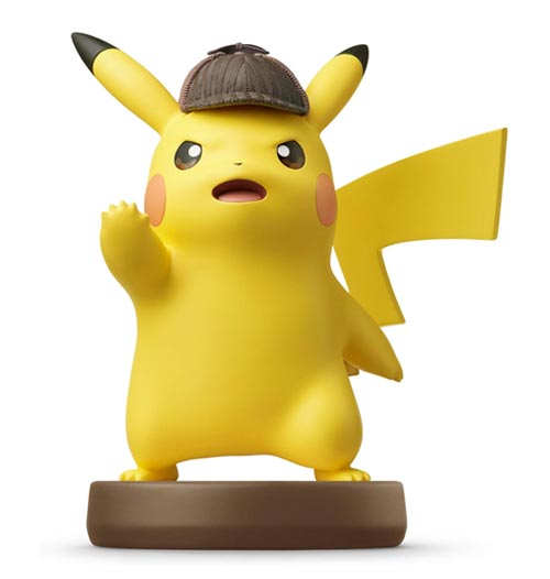 amiibo Detective Pikachu Detective Pikachu