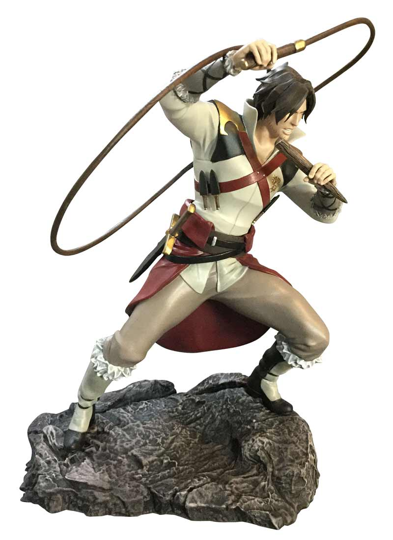 Castlevania Gallery Trevor Belmont PVC Fig profile view