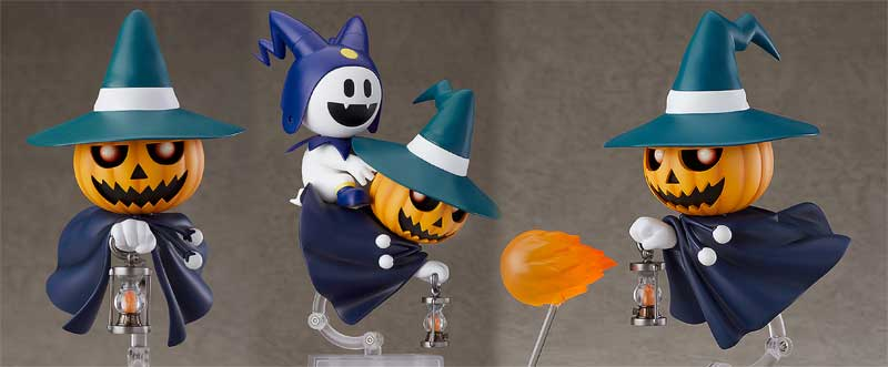 Shin Megami Tensei Pry Jack Nendoroid accessories and poses