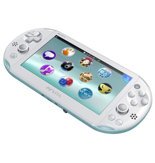 PlayStation Vita Slim System Light Blue / White