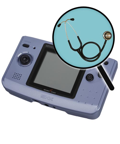 Neo Geo Pocket Color Repairs: Free Diagnostic Service