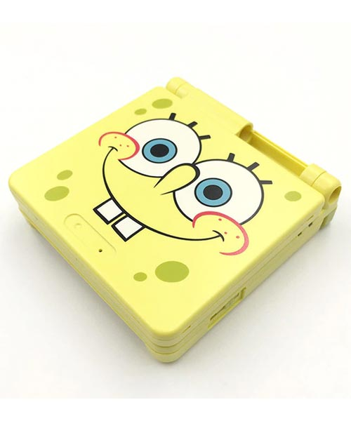 Game Boy Advance SP Housing Shell Replacement Service SpongeBob SquarePants