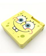 Game Boy Advance SP Housing Shell Replacement Service SpongeBob SquarePants
