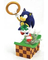Sonic the Hedgehog Gallery Sonic 9 Inch PVC Statue