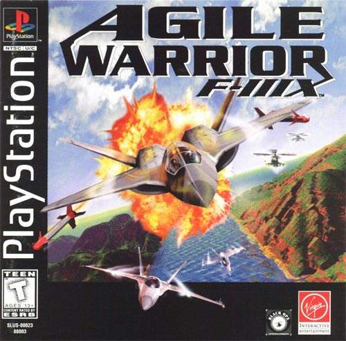 Agile Warrior F-IIIX Jewel Case Version
