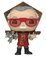 Pop Icons Stan Lee in Thor: Ragnarok Outfit Vinyl Figure