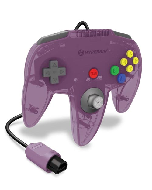 N64 Captain Premium Controller Amethyst Purple