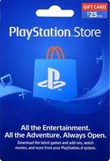 Playstation Network Card $25