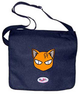 Courier^3 Fruits Basket Kyo Face Black Courier Bag