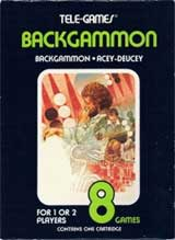 Backgammon by Sears