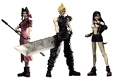 Final Fantasy VII: Play Arts Game Edition 3 Figures Set
