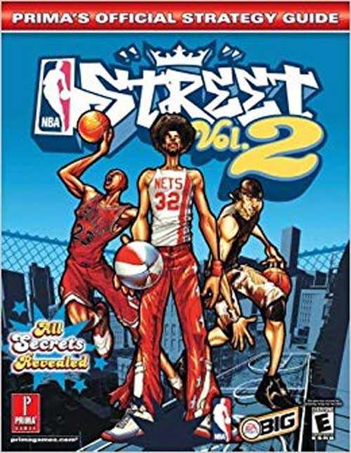 NBA Street Volume 2 Official Strategy Guide Book