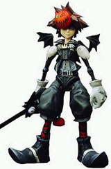 Kingdom Hearts Play Arts Halloween Town Sora Action Figure