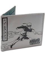 Naruto Shippuden Naruto vs Sasuke Lineart Bi-Fold Wallet
