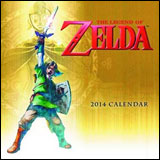 Legend of Zelda 16-Month 2014 Wall Calendar