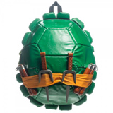 Teenage Mutant Ninja Turtles Half Shell Backpack With Weapons and Masks