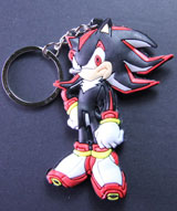 Sonic the Hedgehog: Shadow PVC Keychain