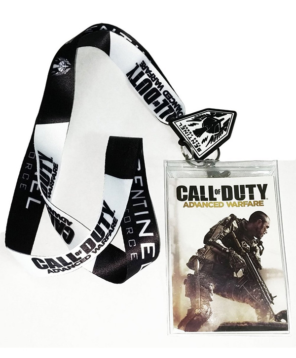 Call of Duty Advanced Warfare Sentinel Lanyard with Charm