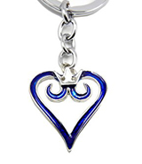 Kingdom Hearts Blue Logo Keychain
