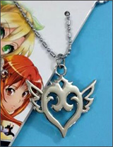 Sword Art Online Heart Pendant Necklace