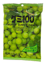 Kasugai Gummy Candy Muscat 3.77oz