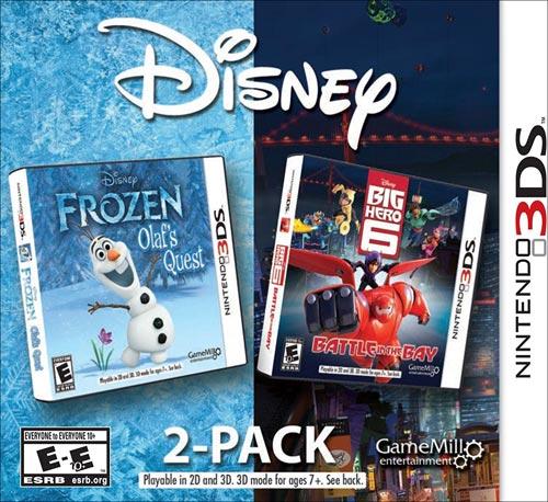 Frozen and Big Hero 6: Disney 2-Pack