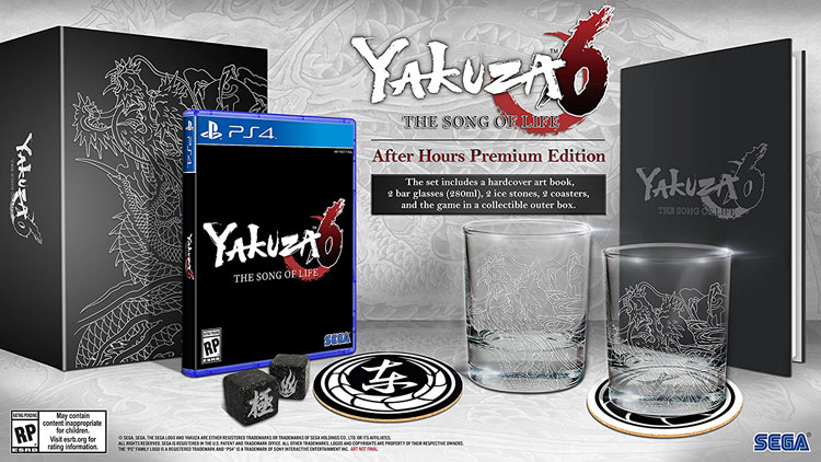 Yakuza 6: The Song Of Life After Hours Premium Edition Contents