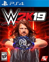 WWE 2K19 (PlayStation 4) boxart