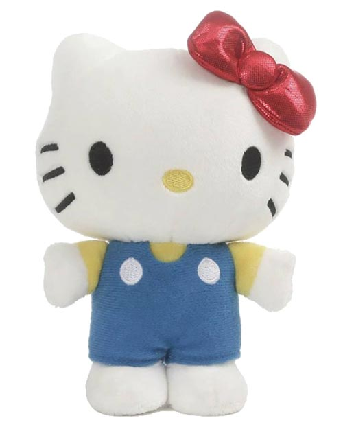 Hello Kitty Classic Standing 6 Inch Plush