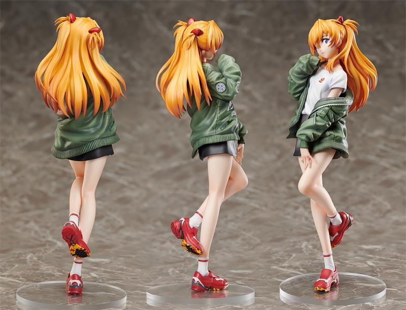 Evangelion Radio Eva Askua Langley Shikinami PVC Figure Color Version additional angles