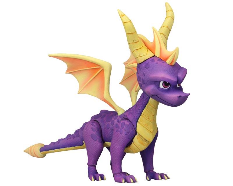 Spyro the Dragon action figure full shot