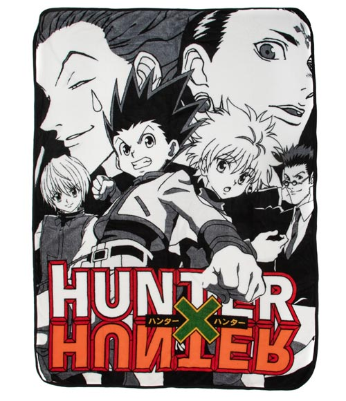 Hunter X Hunter Cast Fleece Throw