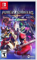 Power Rangers: Battle for the Grid Super Edition