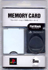 PS2 Memory Card Black by Kemco
