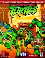 Teenage Mutant Ninja Turtles Official Strategy Guide
