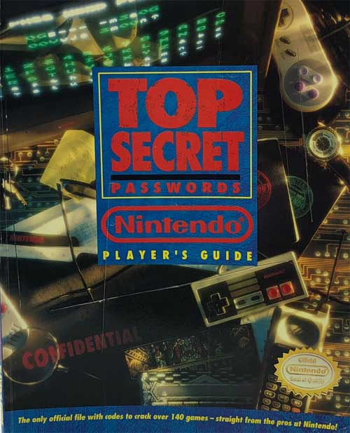 Top Secret Passwords Nintendo Player's Guide