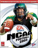 NCAA Football 2003 Official Strategy Guide Book