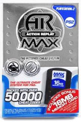 PS2 Action Replay Max w/16MB Memory Card by Intec