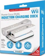 Nintendo Wii Power Base Dual Induction Charging Dock