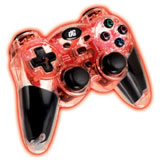 PS3 Wireless Rumble Pad Red