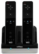 Nintendo Wii Charge Station Black