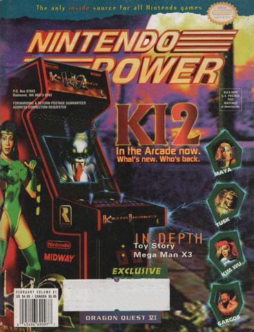 Nintendo Power Magazine Volume 81 Killer Instinct 2