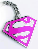 DC Heroes Supergirl Keychain