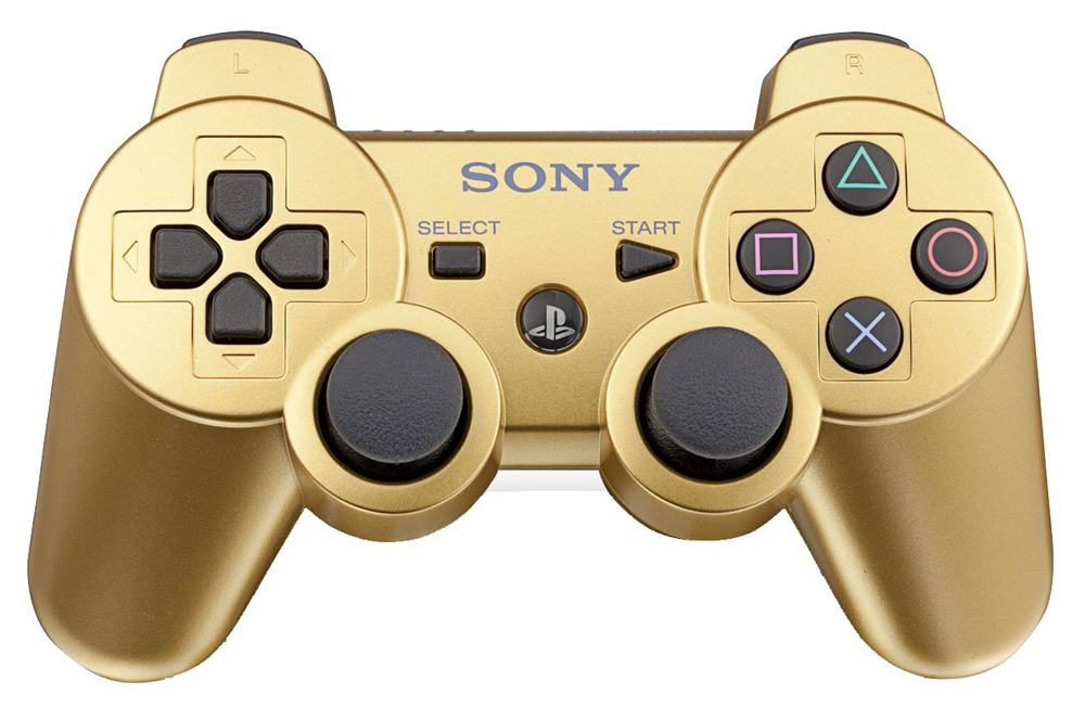 Playstation 3 DualShock 3 Controller Metallic Gold by Sony