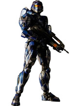 Halo 4 Play Arts Kai Spartan Warrior Action Figure