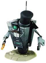 Borderlands Gentleman Caller 7 Inch ClapTrap Action Figure