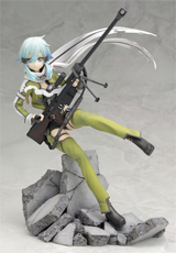 Sword Art Online II Sinon Ani-Statue Phantom Bullet Version